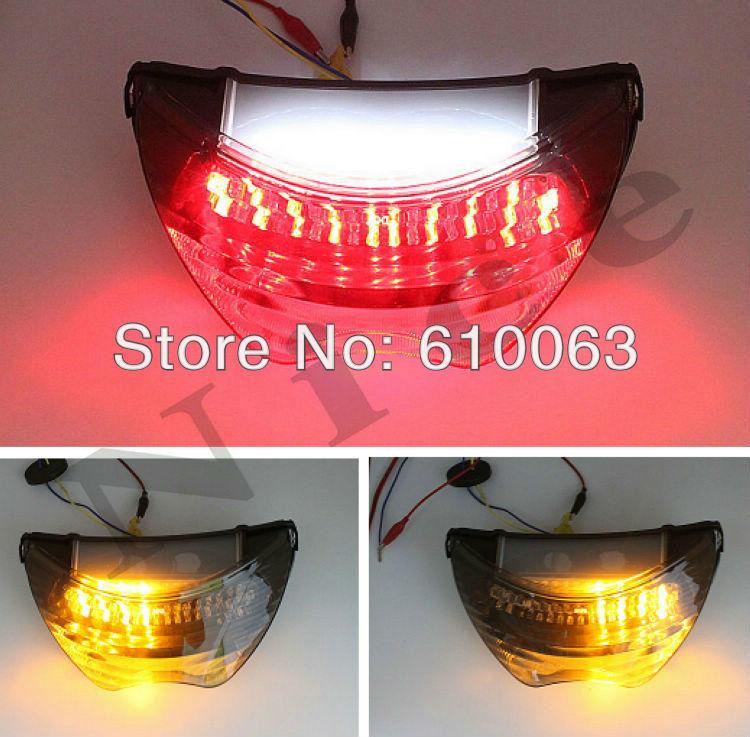 Motorcycle flashers LED Tail Light Brake Turn Signals For Honda CBR 600 F4i 2004 - 2006 For Honda CBR 600 F4 1999-2000(China (Mainland))