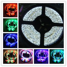 12v 3528 led strip 1 meters 60 lamp smd counter car wheel colorful rgb flexible strip highlight the(China (Mainland))
