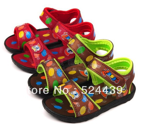 wholesale Summer new baby sandals manufacturer direct selling summer sandals injection shoes(China (Mainland))