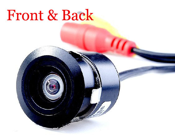 HD Universal Night Vision Car Rear view Camera View Reverse reverse parking & front camera car Waterproof rear view camera(China (Mainland))