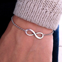 Fashion accessories lucky infinity exquisite bracelet paragraph 0098 2 (B2-192)