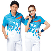 Kaldi sportswear set female male lovers design summer quick-drying lovers 3605 tennis ball jersey