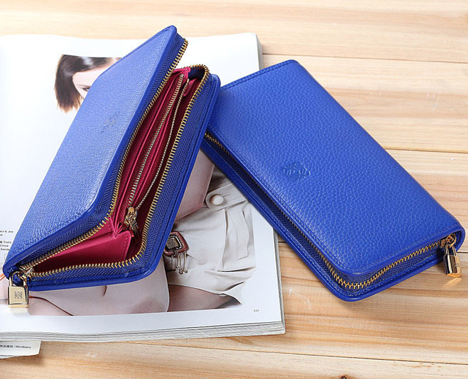 2013 fashion designers luxury famous brand card holder purse women genuine leather ladies purses double cowhide free shipping(China (Mainland))
