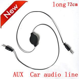 Free shipping Automotive AUX wire  Car audio line