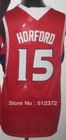 Free Shipping!!! #15 Al Horford jersey Embroidered logo( all name, numbers stitched )