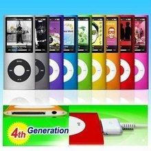 32GB NUEVO 9 COLORES FM VIDEO 4to GEN MP3 MP4 JUGADOR ENVÍO GRATIS(China (Mainland))