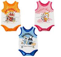 baby kids vest garment  fit 0-2.5yrs girls boys children bodysuits cotton infant one-piece sleeveless clothing 9pcs/lot 3color