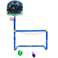Parent-child sports basketball football door combination set pump gas needle 0.55