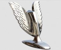 Universal Eagle Wings Car Logo Stand Badge Metal Sticker Front Hood Bonnet Emblem Free shipping