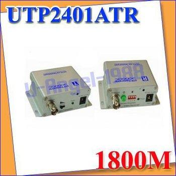 FREE FEDEX.New UTP video balun twisted-pair Single active transmitter receiver UTP2401ATR +register Free shipping