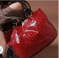 2014 women pu leather handbags Stone Pattern Handbag designers brand Ladies Paint Shoulder Bag messenger bag high quality NB0175