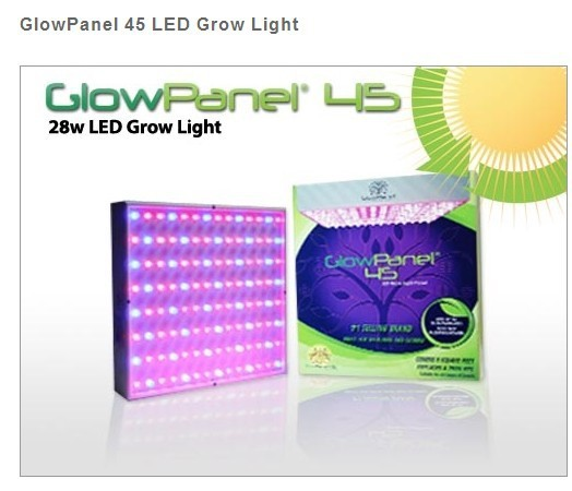 5PCS 45w led plant grow light panel free shipping(China (Mainland))