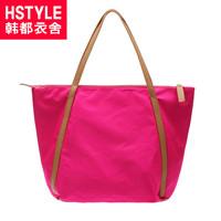 Hstyle women's handbag 2013 solid color casual large capacity shoulder bag kc2192