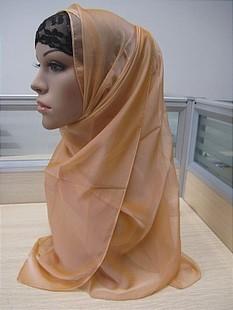 Crystal beading and  Chiffon Muslim Scarf,Shawl,Muslim Hijibs,F166
