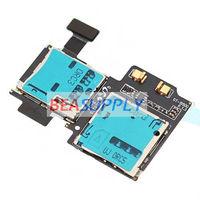 OEM Sim Tray &Micro SD TF Card Reader Holder Slot Flex Ribbon Cable For Samsung Galaxy S 4 IV GT-i9500
