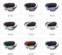 wholesale brand men Oil Rig plastic Sun glasses top quality multicolor lens sunglasses  plastic sport eyewear 5pcs/lot