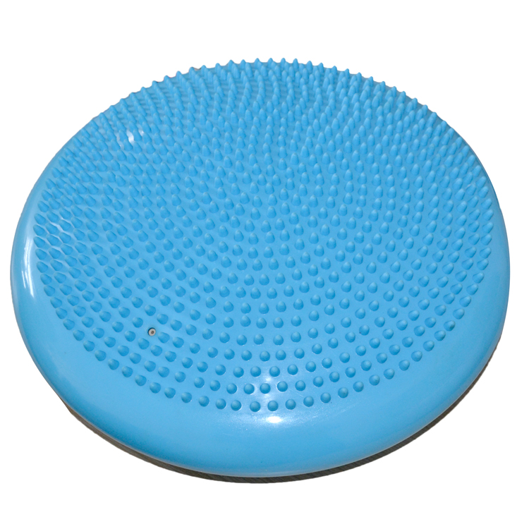 Free ship Yoga massage cushion balancing pad soft balancing wheel hot selling(Hong Kong)
