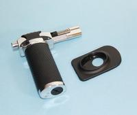 Free Shipping 3pcs Wind Resistance Butane Torch Cigarette Tobacco Cigar Lighter Black