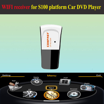 Comfast CF-WU720N 150M Mini USB Wireless Network Card WIFI Adapter For Laptop wifi receiver for S100 CAR DVD PLAYERS