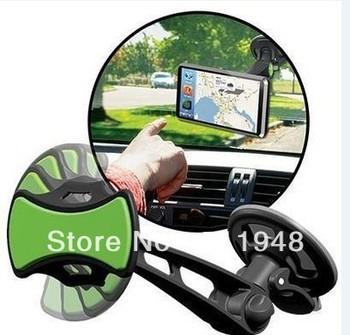 1pcs/lot GRIPGO UNIVERSAL CAR PHONE MOUNT HOLDER  GRIP GO FOR CELLPHONE GPS (OPP BOX)