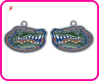 Free shipping 16pcs a lot  sport antique enimal left- and right-facing single-sided University of Florida Gators Charms  jewelry