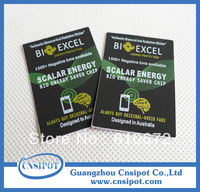 500pcs/lot bioexcel scalar energy saver chip anti radiation sticker