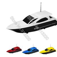 200pcs fashion Stereo Portable Speaker  yacht Shape with TF+SD+U Dis slot/ FM Radio / Double trumpet S910 free DHL