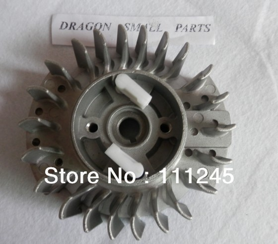 IGNITION FLYWHEEL FITS ZENOAH CHAINSAWS G4500 G5200 G5800 FREE SHIPPING COIL + FLYWHEEL REPLACEMENT IGNITION ASSEMBLY PART(China (Mainland))
