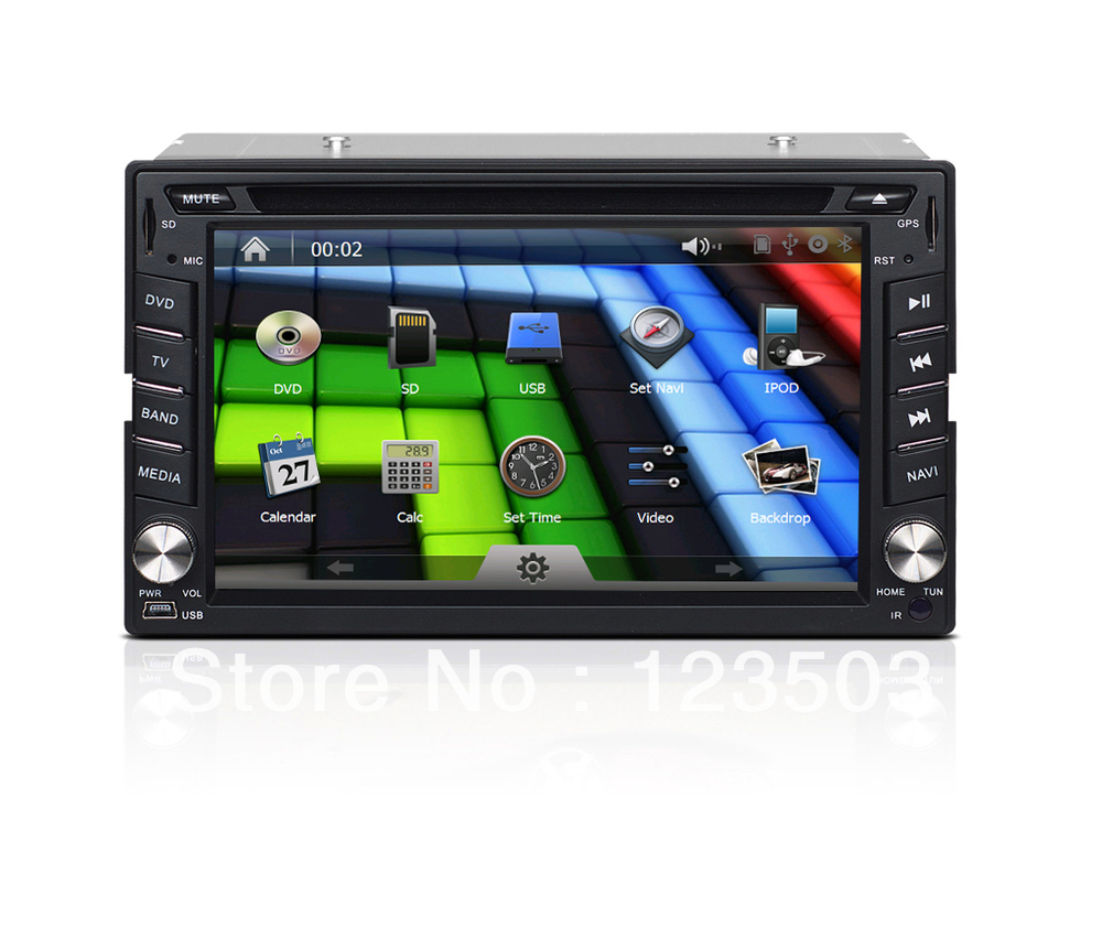 6.2'' Universal Car PC,Car GPS With Wifi,Ipod function,Bluetooth,Wheel control etc(China (Mainland))
