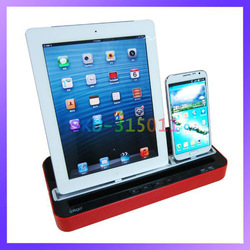 Audio Music Stereo Speaker Station Charger Dock for iPhone iPad iPod(China (Mainland))