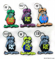 Free shippING+Wholesale  Tales of the Rat Fink key ring