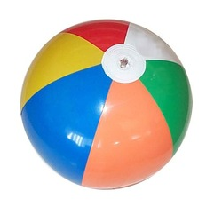 Wholesale Inflatable ball beach ball inflatable toys advertising ball paddle ball water toys free shipping(China (Mainland))