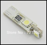 Free Shipping Super Bright T10 4 SMD LED 5050 chip Auto Car Canbus White Lights Lamp Blub 12V