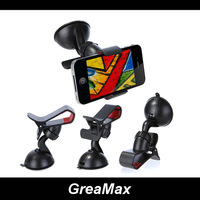 360 Degree Rotating Car Mount Bracket Holder Stand for Cell phone GPS MP4 PDA Tablet Accessories Universal Windshield