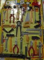 Boy toy  tool toy plastic material tools 23pcs set