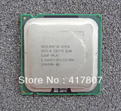 Free Shipping Intel Core 2 Quad Q9450 2.66 GHz Quad-Core 12MB/1333 Socket 775 Desktop CPU Processor(China (Mainland))