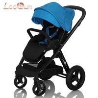 Baby Carrier Loobun baby car baby stroller the 4runner two-way shock absorption folding trolley  baby pram