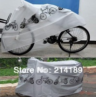 Free Shipping Bike Bicycle Cycling Rain Dust Cover Waterproof Garage Outdoor Scooter Protector