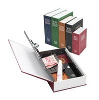 2012 NEW Free Shiping Dictionary Book Safe Security Cash Money Box with Locker & Key