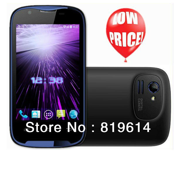 DHL Free shipping/ Russia EMS Free shipping 3.5 inch android OS touch screen cheap smart phone A600(China (Mainland))