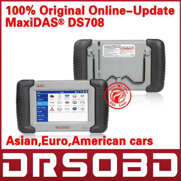 2012 Autel MaxiDAS DS708 Professional auto scanner online-update Autel DS708(China (Mainland))