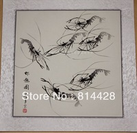 Free shipping 1pc Chinese traditional painting, Asian Art 100% hand painted traditional Chinese painin master reproduction 50*50