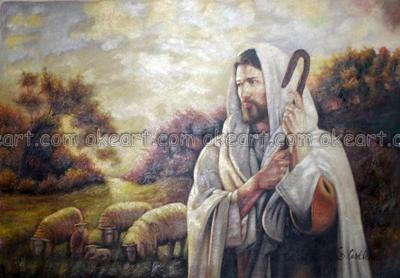 jesus christ good shepherd religious office background