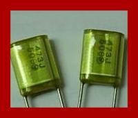 Find Home Metal polyester film capacitors 50v 393j 39nf 10 wool