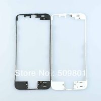 [Free shipping 100pcs/lot] Brand New LCD Bracket Housing Middle Bezel Frame for iPhone 5 5G Parts Chrome 5g lcd bracket