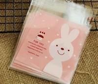 Food Packing Self adhesive plastic bags,Self seal bags,gift packing bag 10cmx14cm Free Shipping Wholesale