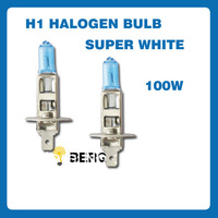 Free Shipping NEW H1 Super Bright White Xenon Halogen Bulb 12V High Power 100W 4300K 2PCS