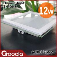 Free shipping 12W Led rgb panels AC86~265V 2 years warranty CE&ROHS Cold/warm white 24pcs 5730SMD 12W kitchen led ceiling light