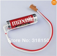 MAXELL ER6B ER14500 3.6V 1800mAh Lithium Battery With CNC PLC Made In Japan 1PCS/LOT free shipping