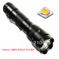 Newest UltraFire 502B CREE XM-L2 U2 1400LM 1-Mode SMO LED Flashlight/LED Torch (1 x 18650)